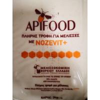 Храна за пчели - APIFOOD с добавка  Nozevit+ 1 кг.